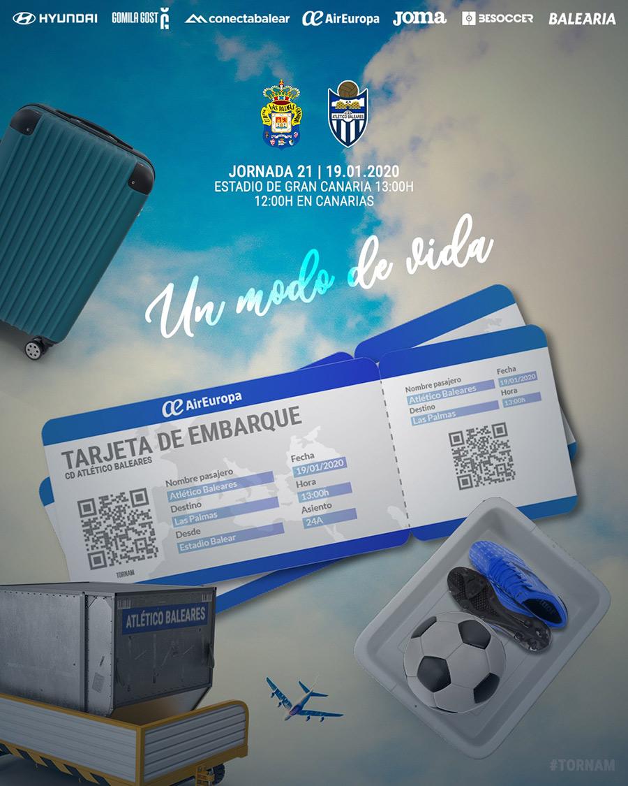 Jornada 21 - Las Palmas Atlético