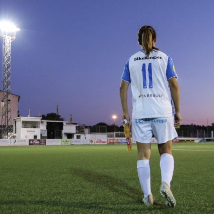 8M: saque de honor de Marina Tugores y los jugadores lucirán el nombre del femenino