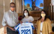 Lucía Corrales, presentada en Es Rebost como jugadora del ATBFEM nacional