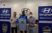 """Vinicius, presentado en Hyundai Proa Automoción: """"No importan los goles, importa ascender"""""""