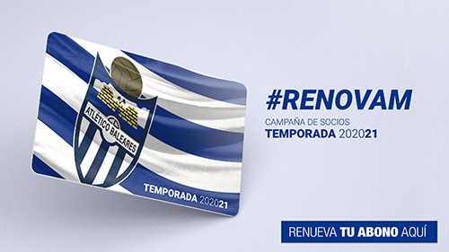 RENOVAM: the new campaign from Atlético Baleares